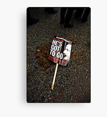 Protest Canvas Print