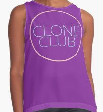 CLONE CLUB BADGE | ORPHAN BLACK Contrast Tank