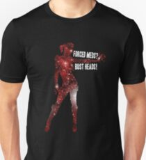 Mass Effect, Jack - Forced Meds? Bust Heads! T-Shirt