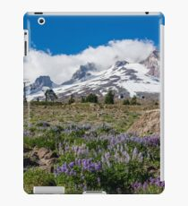 Mt Hood and lupines from Pacific Crest Trail iPad Case/Skin