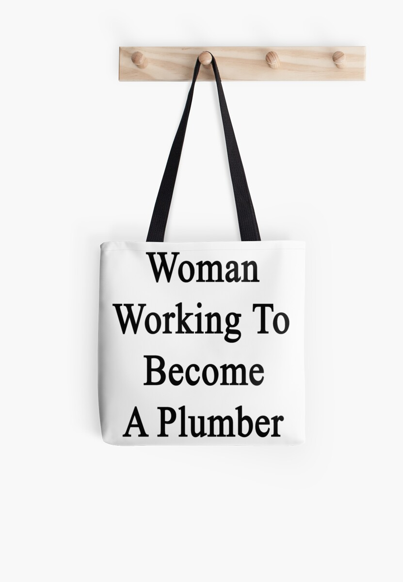 Woman Working To Become A Plumber  by supernova23