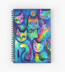 Magicats Spiral Notebook
