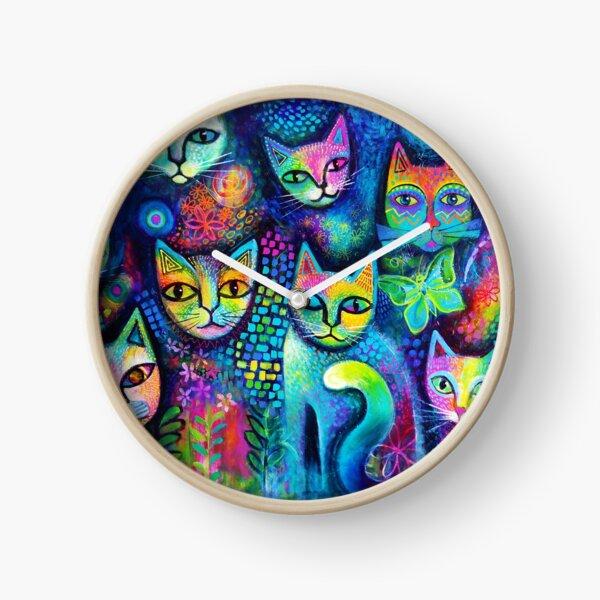 Magicats Clock