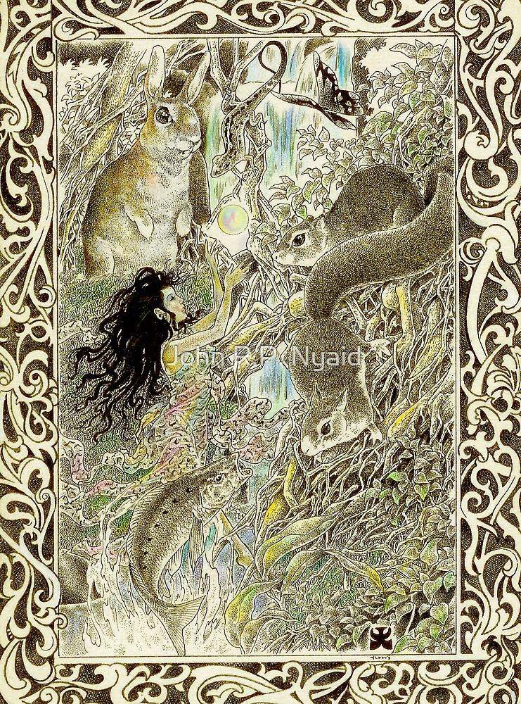 tropical fantasia - illumination by John R.P. Nyaid