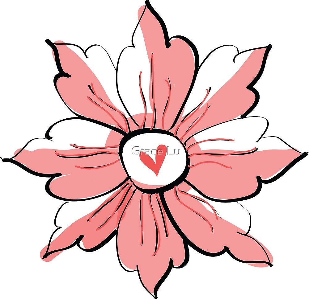 Portugiesische Blume von Grace Lu