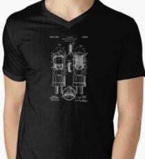 Vacuum Tube Patent 1924 Men's V-Neck T-Shirt