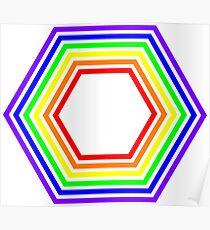 Colour Hextrum Poster