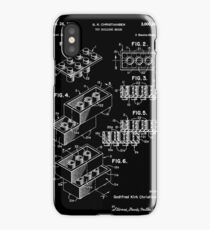 Lego Brick Patent 1958 iPhone Case/Skin