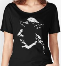 Star Wars Yoda Minimal Women's Relaxed Fit T-Shirt