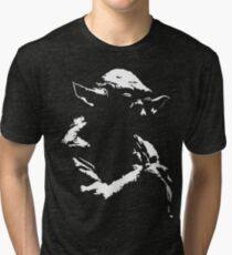 Star Wars Yoda Minimal Tri-blend T-Shirt