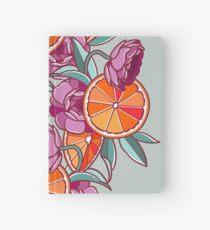 Oranges & Ranunculus Hardcover Journal