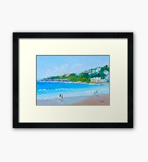 Summer at Coogee Beach Framed Print