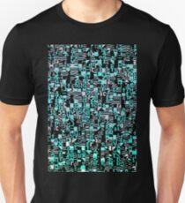 Cool typography pixel texture Unisex T-Shirt