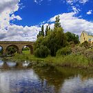 Richmond Bridge over Coal River - Tasmania by Stephen Kilburn