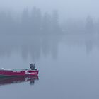 early morning fog by Manon Boily