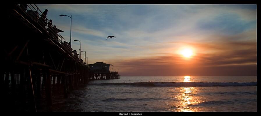 Santa Monica I by Hensler