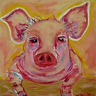 Petra Piggy by TraceyMackieArt