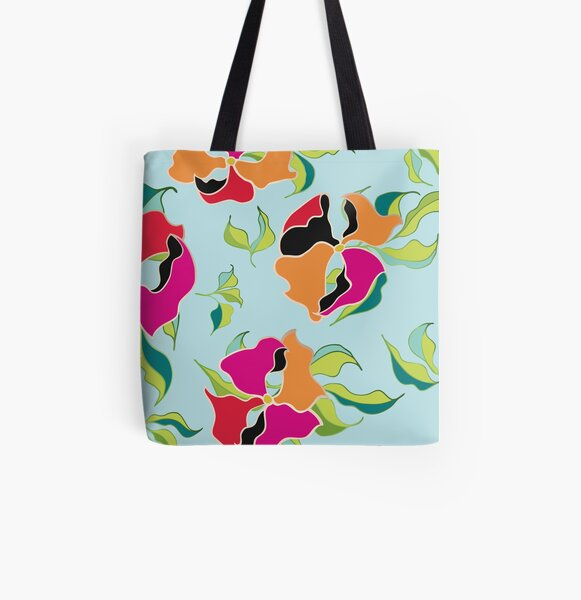 Power Flowers – Summer All Over Print Tote Bag