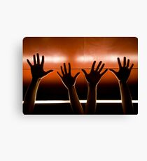 Helping Hands. Canvas Print