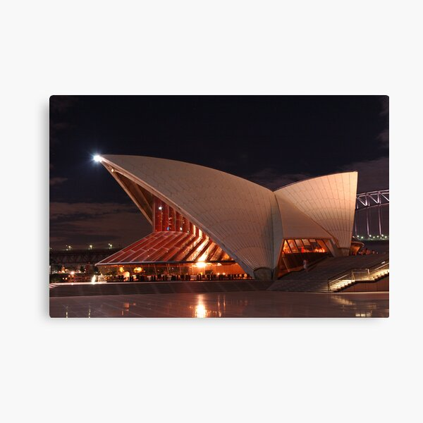 Beside Bennelong Canvas Print