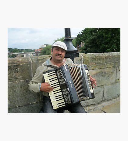 Street Musician Fotodruck