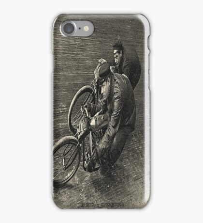 At The Races-Vintage Photo Art-Available As Art Prints-Mugs,Cases,Duvets,T Shirts,Stickers,etc iPhone Case/Skin