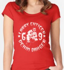 larry enticer Women's Fitted Scoop T-Shirt