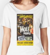 The Mole People, vintage horror movie poster Women's Relaxed Fit T-Shirt