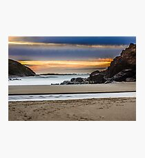 Fogarty Creek Sunset Photographic Print