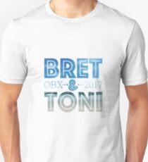 Bret & Toni Wedding Design T-Shirt