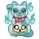 Maneki-Neko: Ghost by SpacecatStudios