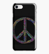 PEACE in all Languages iPhone Case/Skin