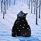 Snowcat by vickymount