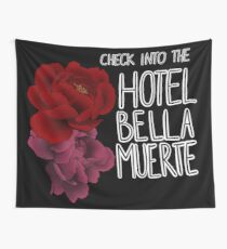 Check into the Hotel Bella Muerte Tapestry