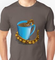 Coffee Break (Black) Unisex T-Shirt