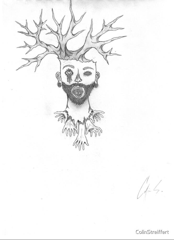 Bearded Tree by ColinStreiffert