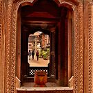 Looking Through: Bhaktapur, Nepal by Barbara  Brown