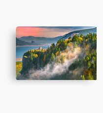 Crown Point Sunset Canvas Print