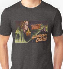 Nightmare Castle, vintage horror movie poster Unisex T-Shirt