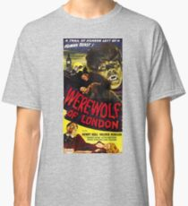 Werewolf of London, vintage horror movie poster 3 Classic T-Shirt