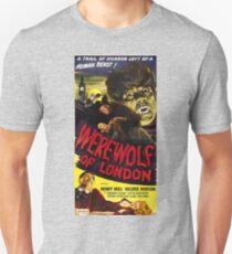 Werewolf of London, vintage horror movie poster 3 Unisex T-Shirt