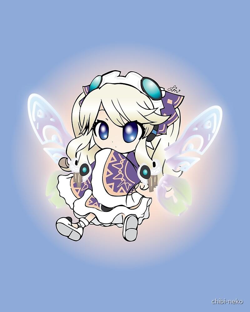 HyperDimension Neptunia Histoire by chibi-neko
