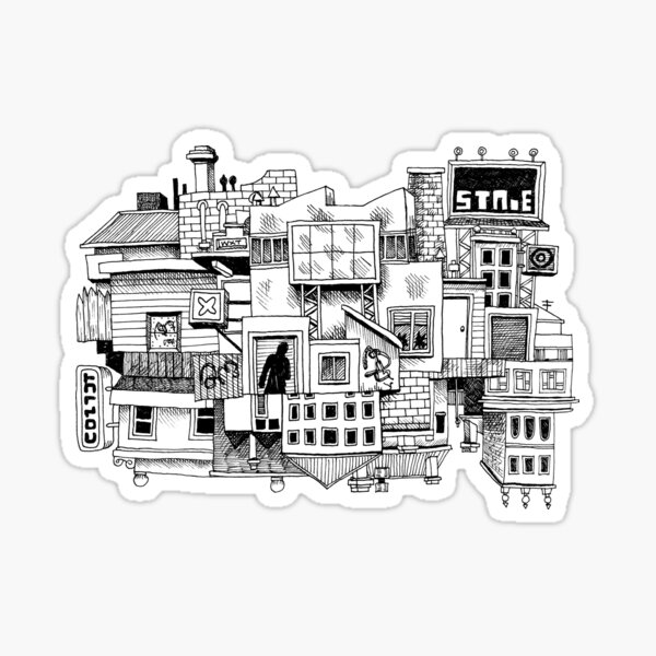 This Town Sticker