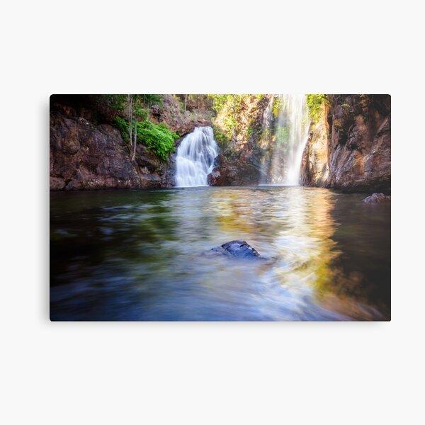 Florence Falls in Litchfield National Park, NT, Australia. Metal Print