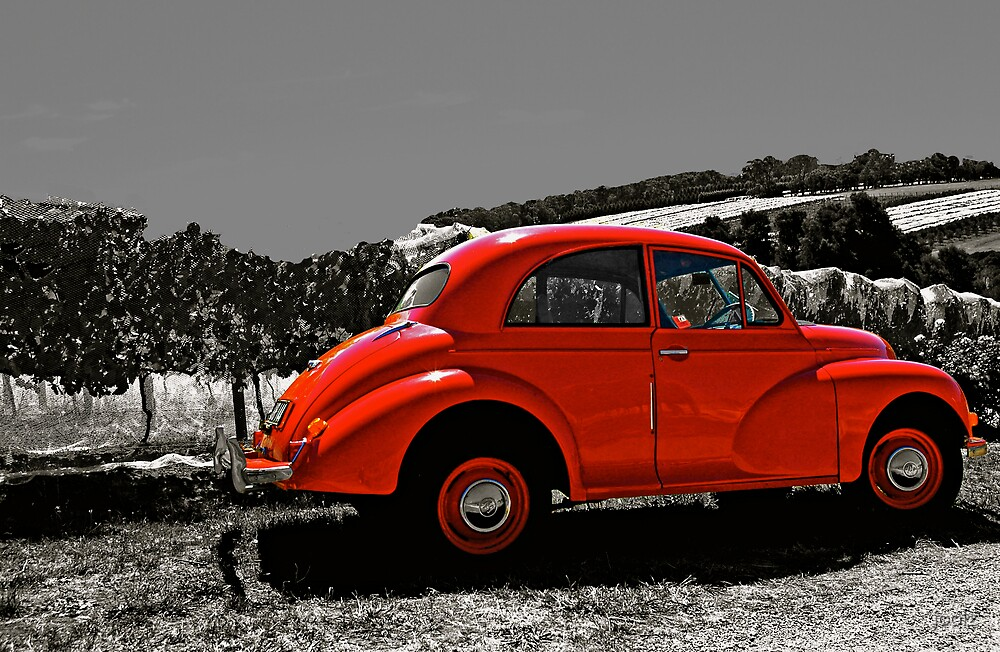 The Red Car by joolz