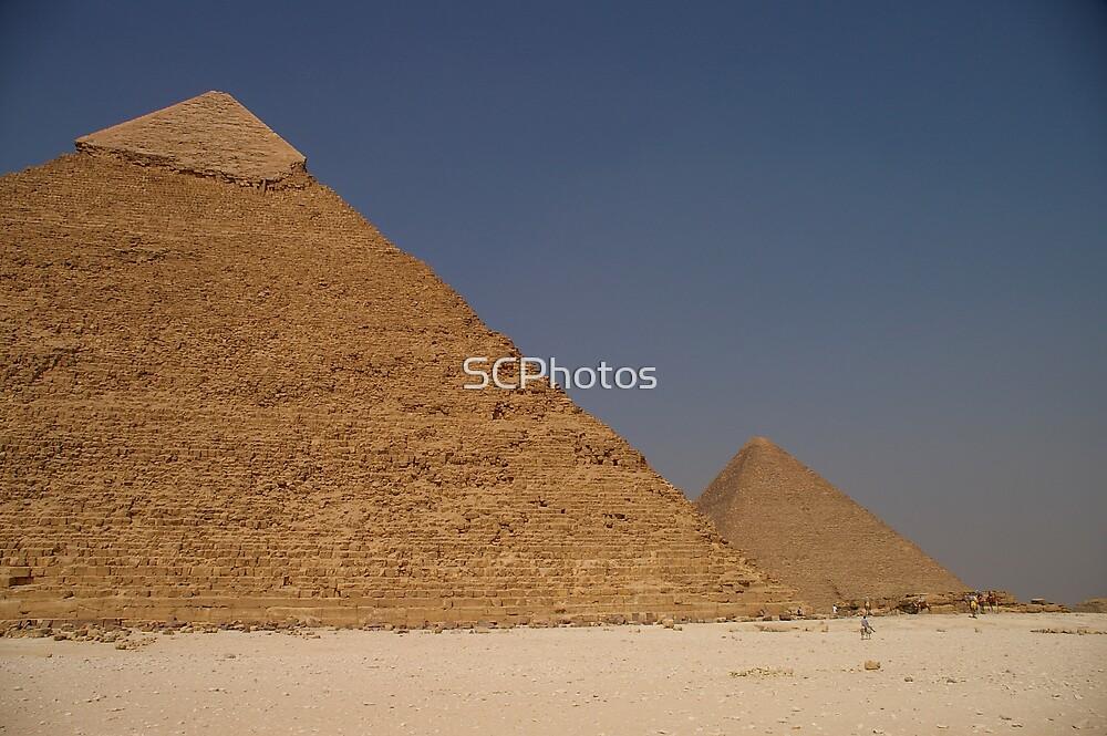 Giza Pyramids by SCPhotos