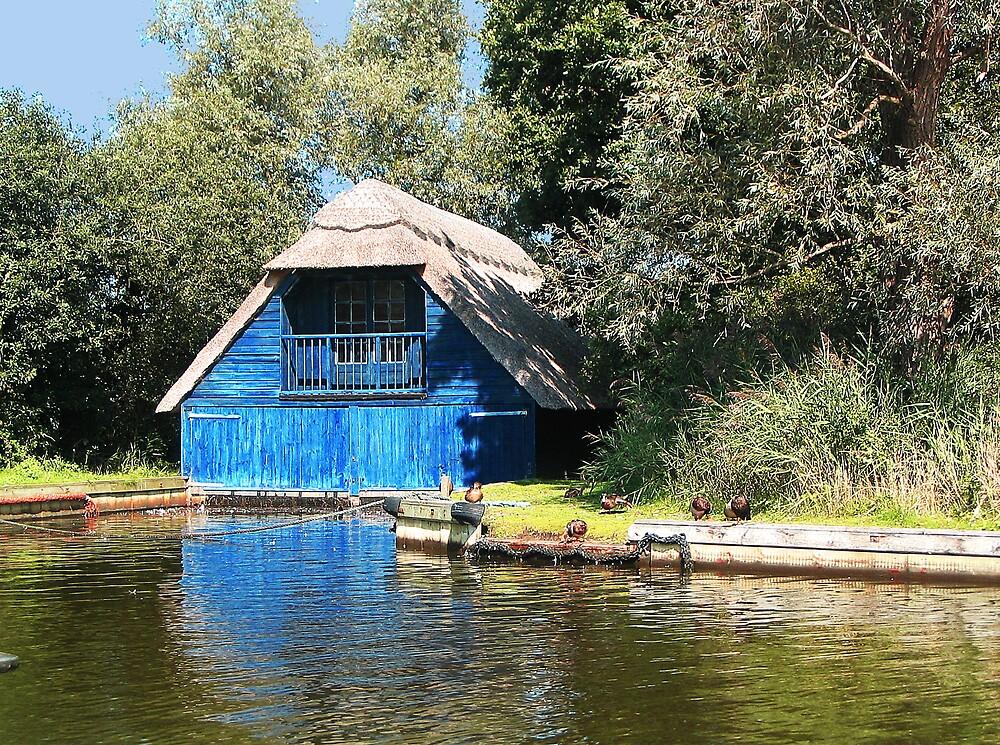 Blue Boathouse by BizziLizzy