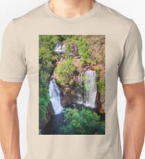 View from above at Florence Falls in Northern Territory, Australia Unisex T-Shirt