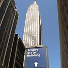 Empire State Building by David Thompson