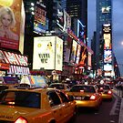 Times Square, NYC by David Thompson